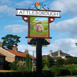 Town Sign Placeholder