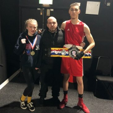 Lydia and Tommy become National Junior Champions
