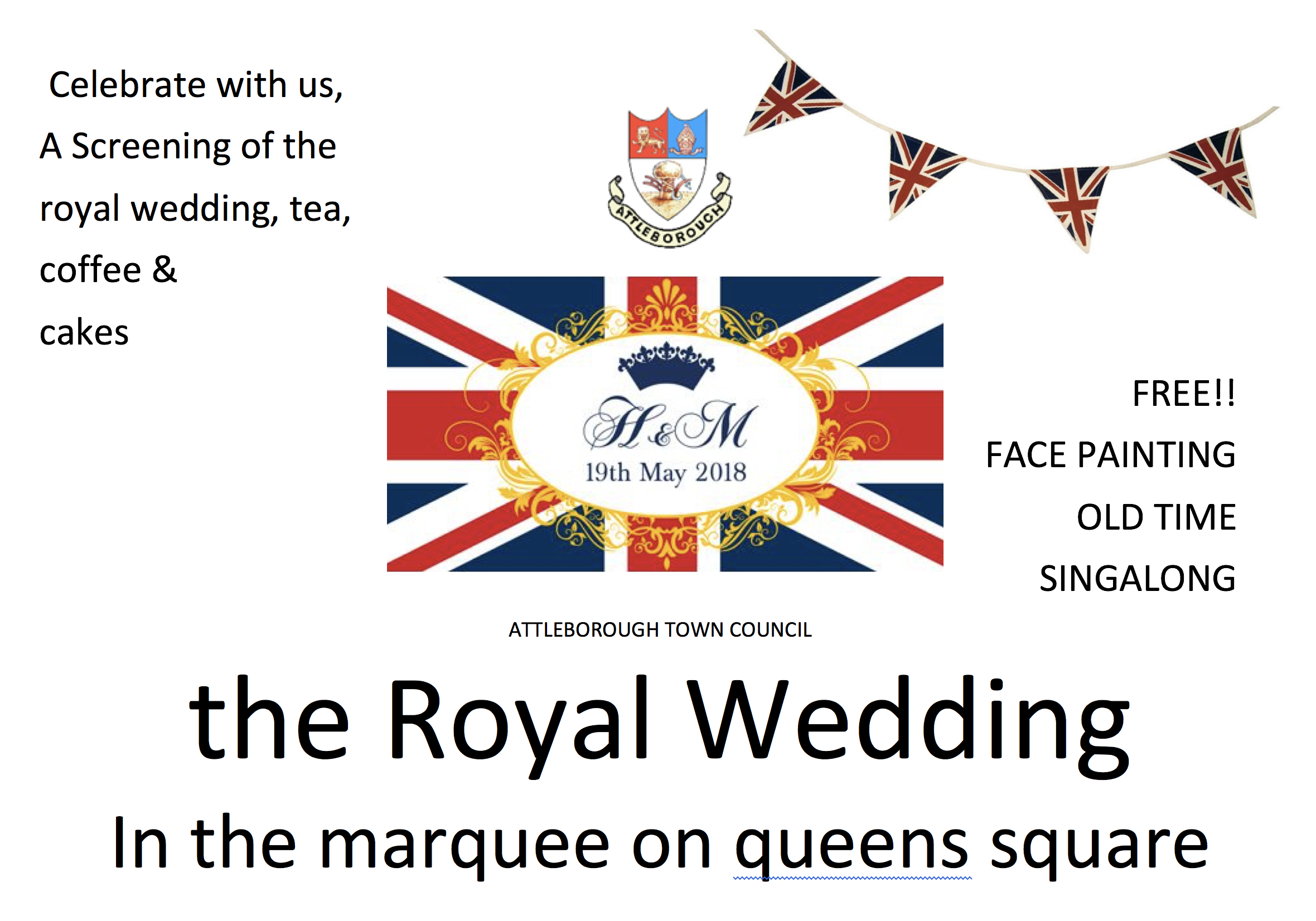 The Royal Wedding @ Queens Square